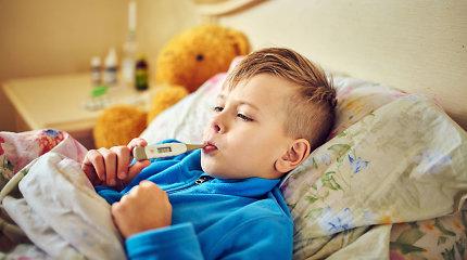 Vaikų gydytoja – apie dažniausiai daromas klaidas matuojant temperatūrą