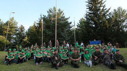 Šaulių sąjunga rengia stovyklą 30 vaikų iš Rytų Ukrainos