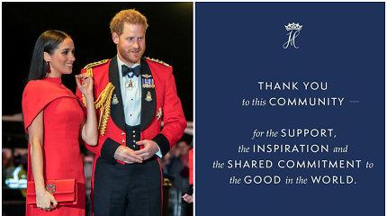 Princas Harry ir Meghan Markle atsisveikino su vienu svarbiu karališkajai porai būdingu atributu