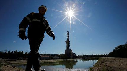 Naftos kainos lėtai patraukė žemyn