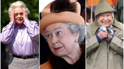 """Lygių sau neturinti Anglijos karalienė: Elizabeth II priklauso net keli """"Guinness"""" rekordai"""