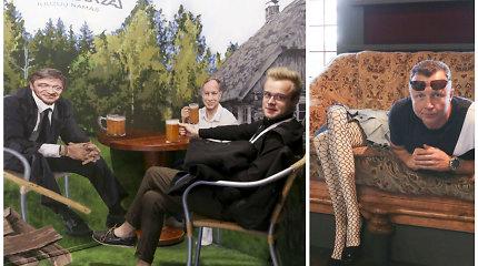Palangoje atidarytas iliuzijų namas: viena iš pramogų – išgertuvės su Veryga ir Karbauskiu