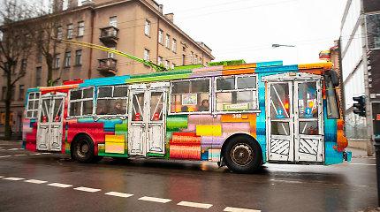 Kauno viešasis transportas virsta gatvės menu: pasikeitė jau penktadalis senų troleibusų