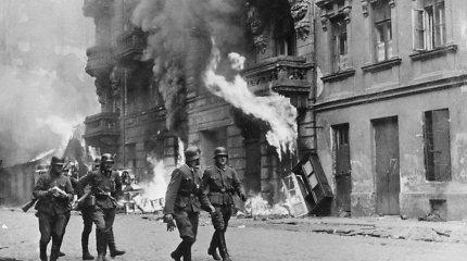 Testas: ar atpažinsite vaizdus ir žmones iš II pasaulinio karo?