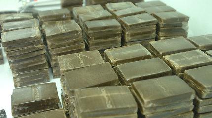 Baltarusių muitininkai Latvijos pasienyje konfiskavo didžiausią per 10 metų hašišo siuntą