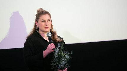 """Festivalis """"Šeršėliafam"""" metų kino moterimi paskelbė Mariją Kavtaradzę"""