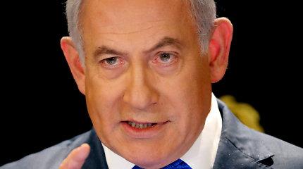 B.Netanyahu: dėl raketų atakų naujas karas Gazos Ruože tampa neišvengiamas