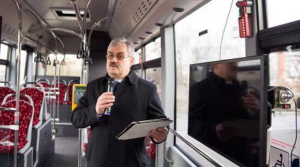 """Kilus skandalui, ilgametis """"Kauno autobusų"""" vadovas M.Grigelis nusprendė trauktis"""