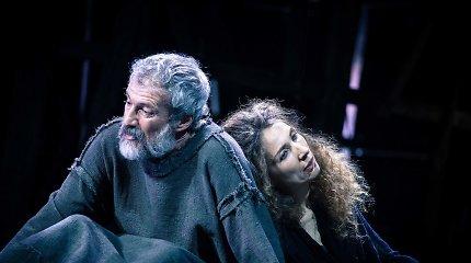 Pompėjos Didžiojo teatro scena – tarytum pabaigos neturintis horizontas