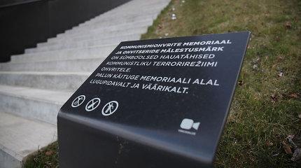 Estijoje vandalai nuniokojo paminklą stalinizmo aukoms