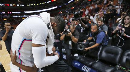 """NBA žvaigždė Dwyane'as Wade'as drąsiai prabilo, kaip jo sūnus virto """"ja"""""""