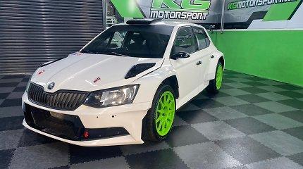 """Paaiškėjo, kuri Lietuvos ralio komanda įsigijo naują ginklą – """"Škoda Fabia R5"""""""