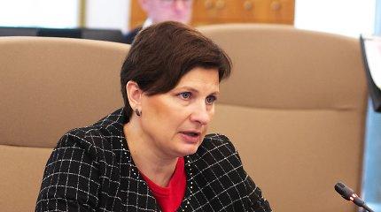 Latvijos sveikatos apsaugos ministrė I.Vinkelė sutinka atsistatydinti