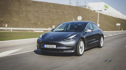 """""""Tesla"""" automobiliai galės bliauti ožkos balsu ir skleisti kokoso riešutus primenantį garsą"""