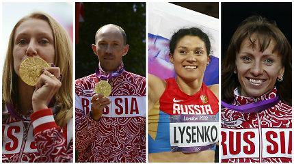 """Kova prieš dopingą: atimti titulai, netikėti medaliai ir """"susirgęs"""" Rusijos sportas"""