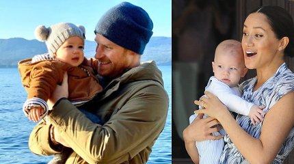 Karališkoji šeima su 2-uoju gimtadieniu sveikina Sasekso hercogų pirmagimį Archie