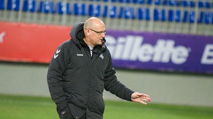 """Po fiasko Liuksemburge treneris kalba apie permainas: """"Pasikeitimų bus"""""""