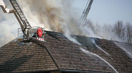 Vilniuje degė Belmonto restoranas