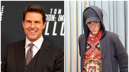 Justinas Bieberis atskleidė, kodėl metė iššūkį Tomui Cruise'ui