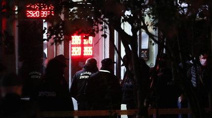 Tbilisyje įkaitų paėmęs užpuolikas sulaikytas, niekas per incidentą nenukentėjo