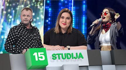"""Eurovizijos"" apžvalga su Samu, D.Filmanavičiūte ir K.Juodzevičiūte: ko tikėtis finale?"