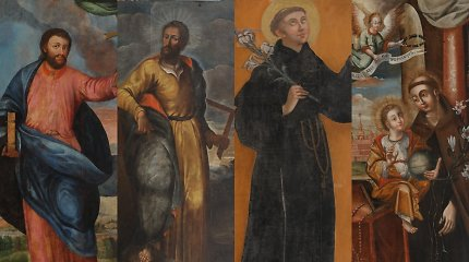 Bažnytinio paveldo muziejuje atidaroma restauruotų kūrinių paroda