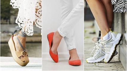 Madingiausia pavasario avalynė: kokius batus rinksimės ir prie ko derinsime?
