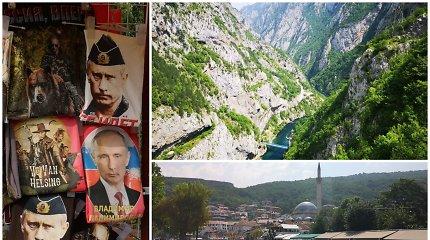 """Automobiliu į Kosovą: """"Balkanai turi savo dvasią"""""""