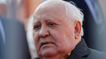 M.Gorbačiovas ragina užkirsti kelią naujoms ginklavimosi varžyboms