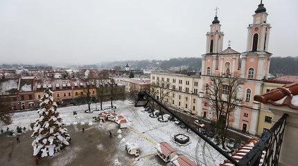 Kaune atveriamas Rotušės bokštas: pažvelkite į kalėdinį miestelį iš 53 metrų aukščio