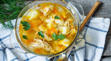 Verta pasikartoti: 5 klaidos, kurių reikia vengti verdant vištienos sriubą