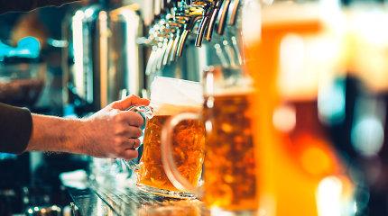 Su termometro stulpeliu kyla ir alaus kaina: bokalas kainuos bent 3 eurus, kartais – ir 4,5