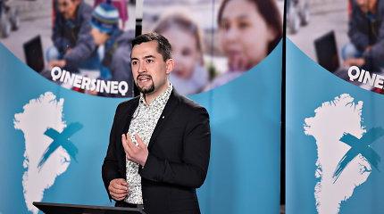 Grenlandijos parlamento rinkimus laimėjo opozicinė kairiojo sparno partija