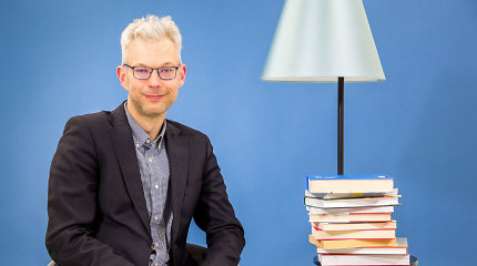"""J.Žilinskas: """"YouTube"""" gali parodyti, kaip veikia daiktai. Kaip veikia žmogus – gali parodyti tik knyga"""""""