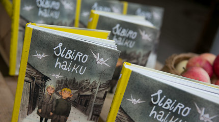 """Grafinė novelė """"Sibiro Haiku"""" Geteborgo knygų mugėje"""