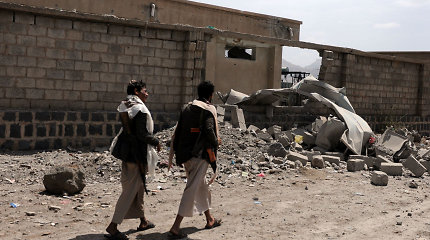 Jemene sudužo Saudo Arabijos naikintuvas, skelbia koalicija