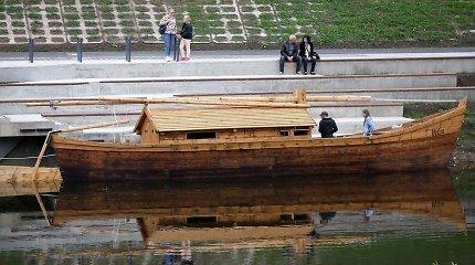 Už daugiau nei 12 tūkst. eurų pastatytą laivą Kėdainių savivaldybė ketina išnuomoti
