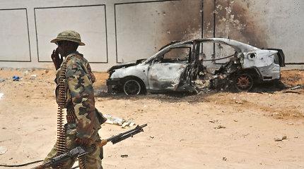 """Per JAV pajėgų antskrydį Somalyje nukauta 10 """"al Shabab"""" kovotojų"""