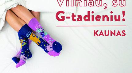"""Vilniaus gimtadieniui Kaunas pristatė progines kojines – """"Neišskiriama pora"""""""