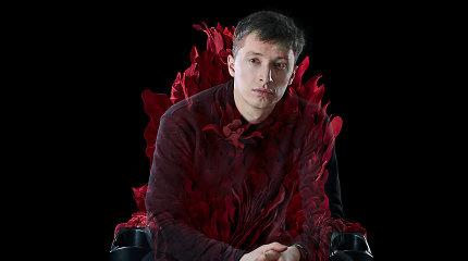 Spektaklio metu aktorius Vainius Sodeika apdegė veidą: prireikė gydytojų pagalbos