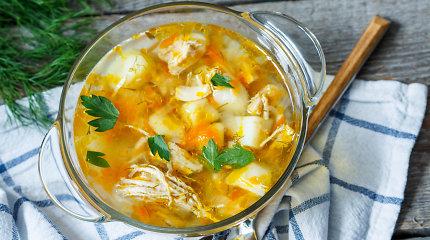 10 sriubų su vištiena receptų: ir kankinamiems peršalimo, ir sveikiems