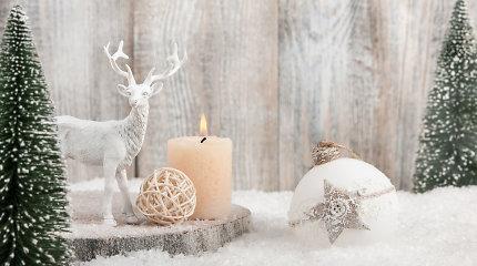 Žvakės namuose: pasirūpinkite, kad kalėdinė liepsnelė netaptų pavojinga ugnimi