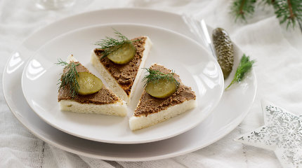 Užkandis šventiniams stalui – paštetas: ruošiame iš kepenėlių, grybų ar žuvies