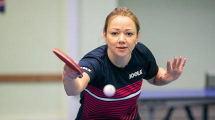 Lietuvos stalo tenisininkės pradeda kovą dėl olimpinių kelialapių