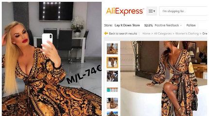 """Vitos Jakutienės drabužių butikas atkreipė pirkėjų dėmesį: identiškas sukneles rado """"Aliexpress"""""""