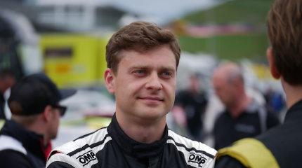 """J.Karklys dalyvavo antrajame """"Renault Clio Cup"""" čempionato etape Austrijoje"""