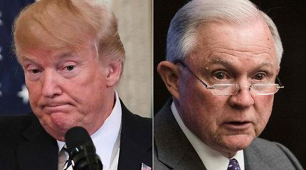 Svyla padai? D.Trumpas paragino JAV generalinį prokurorą sustabdyti tyrimą dėl Rusijos susimokymo su jo kampanija