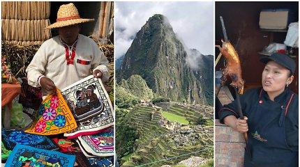 """""""Egzotiškos patirtys"""": Peru – inkų palikimas, keisti draudimai Maču Pikču ir jūrų kiaulytės pietums"""