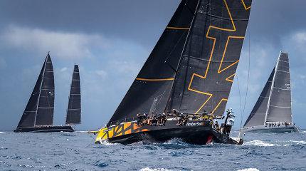 """Lietuvai Karibuose atstovaujančios jachtos """"Ambersail 2"""" įgula: """"Kovojame su tikrais profesionalais"""""""