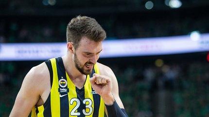 """Įtampa Turkijoje pasiekė maksimumą: """"Fenerbahče"""" išplėšė septintąsias serijos rungtynes"""